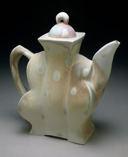 "Coffee Pot, 2002, h 12"""