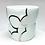 Thumbnail: Celadon Cloud Cup // Platinum, Black / cc23
