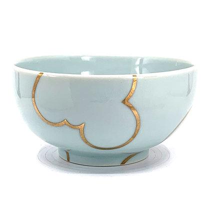 Celadon Cloud Rice Bowl #39