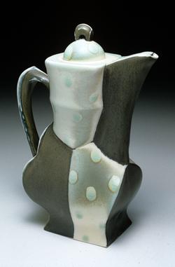 "Coffee Pot, 2002, h 13"""