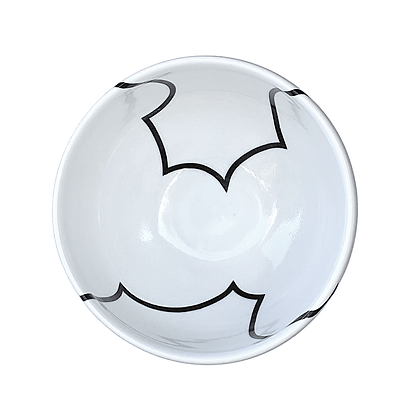 Cloud Rice Bowl #58a