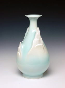 Celadon Pear Bottle