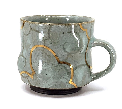 Cloud Mug // Gold / #43