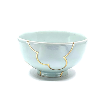 Celadon Cloud Rice Bowl #53