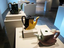 Teapots, installation shot, 2008