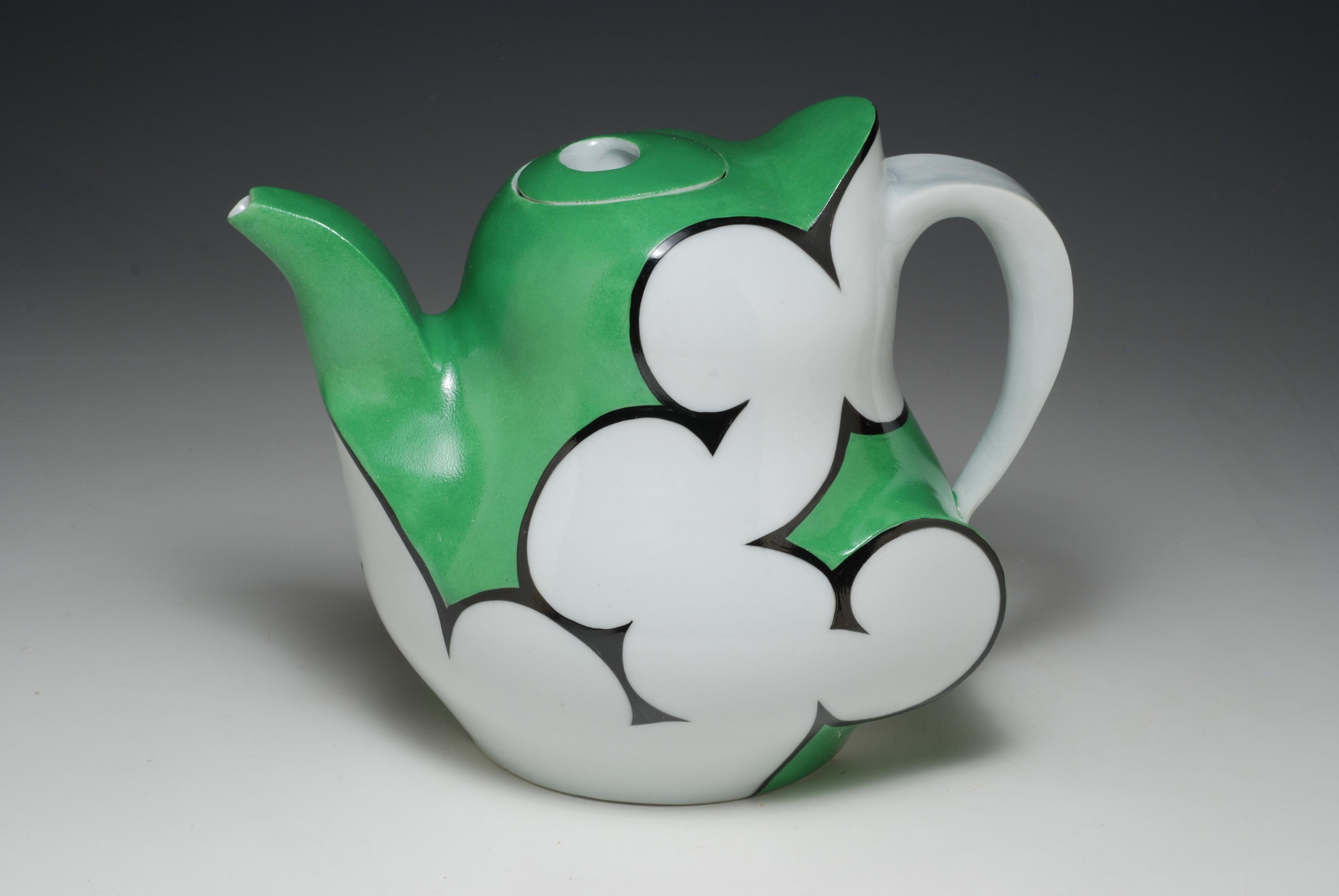 """Cloud Teapot, 2014, h 6"""""""