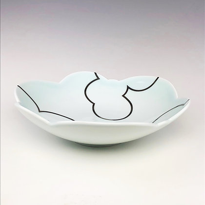 Cloud Serving Bowl // Platinum Clouds Inside