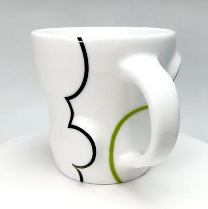 Cloud Mug // Green / p8