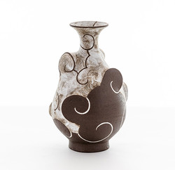 Stoneware Pear Bottle 2019