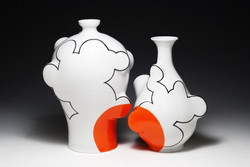 Cloud Vases