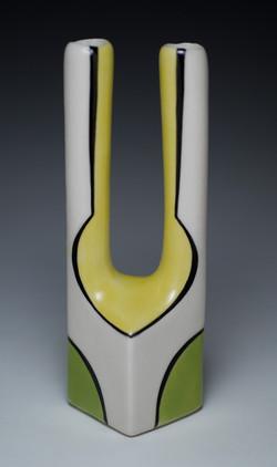"Vase, 2010, h 10"""