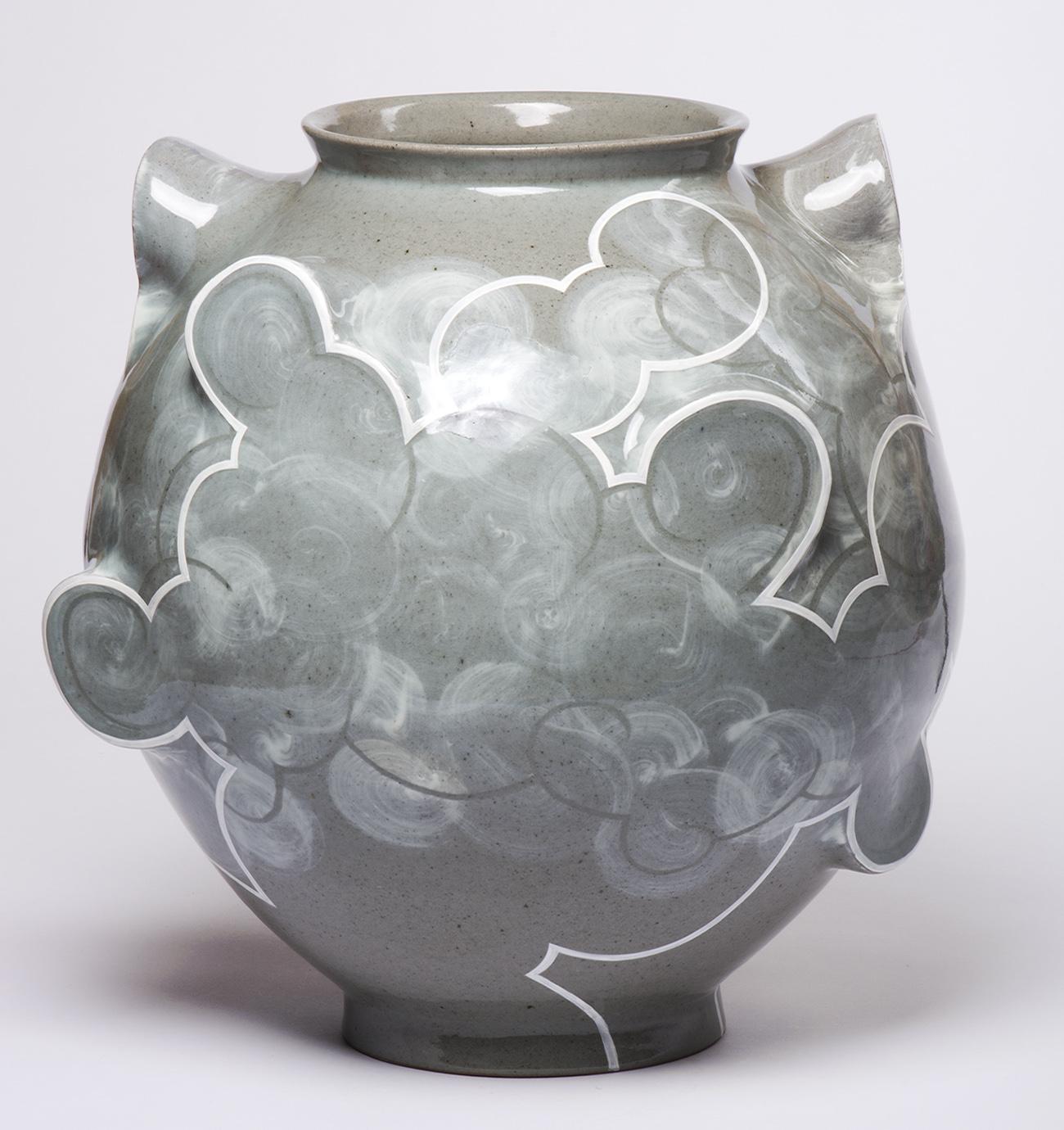 Stoneware Moon Jar 2017