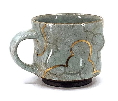 Cloud Mug // Gold / #41