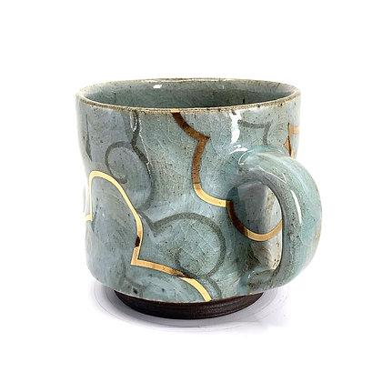 Cloud Mug // Gold / #2