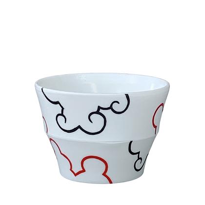 Translucent Cloud Cup // Red+Black / #29