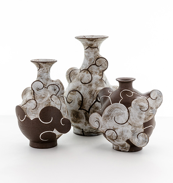 stoneware cloud series