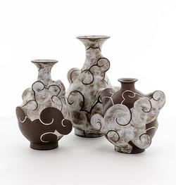 stoneware cloud series