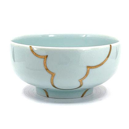 Celadon Cloud Rice Bowl #42