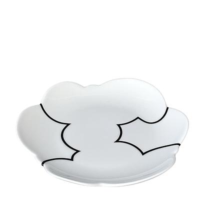 Cloud Plate / MEDIUM // Black