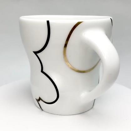 Cloud Mug // Gold / p10