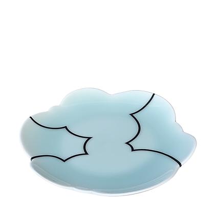 Celadon Cloud Plate / MEDIUM // Black