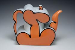"""Teapot, 2010, h 8"""""""