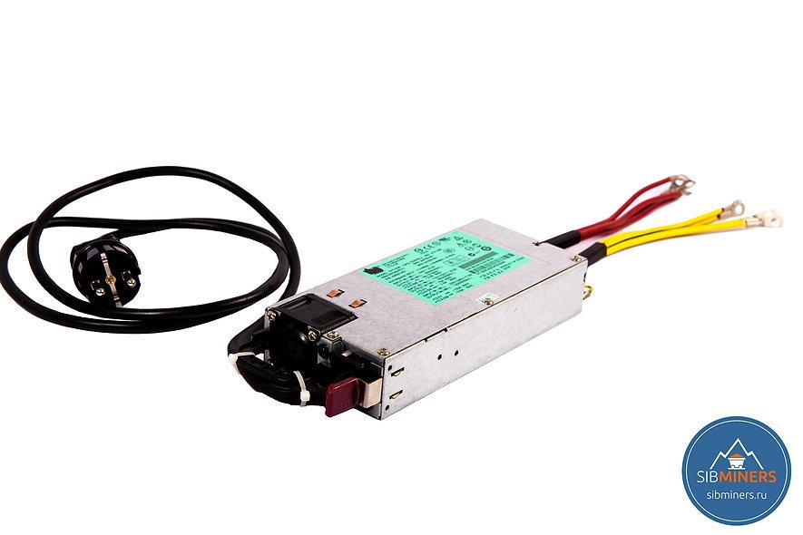 Серверный блок питания HP 1200LB 1200W 80PLUS Platinum для майнинга