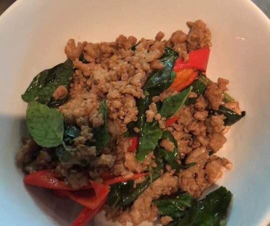 Stir-fry Thai Basil
