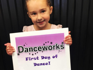 First Day of Dance!