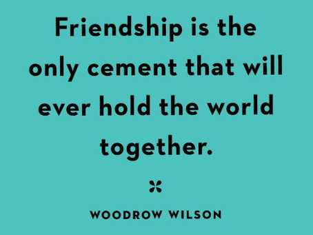 Friends… How many of us have them?!