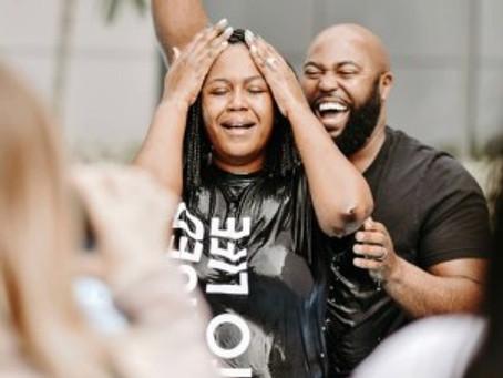 I got Baptized…