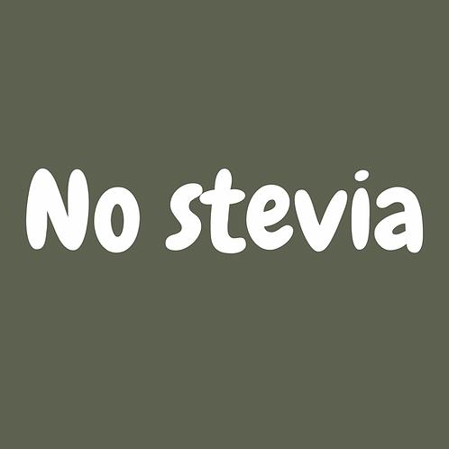 No Stevia