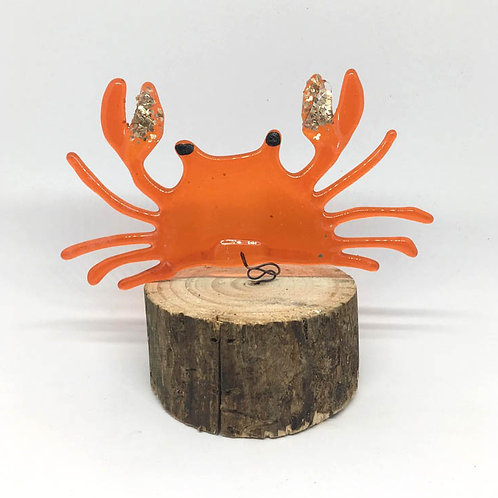 Crab! On Wood