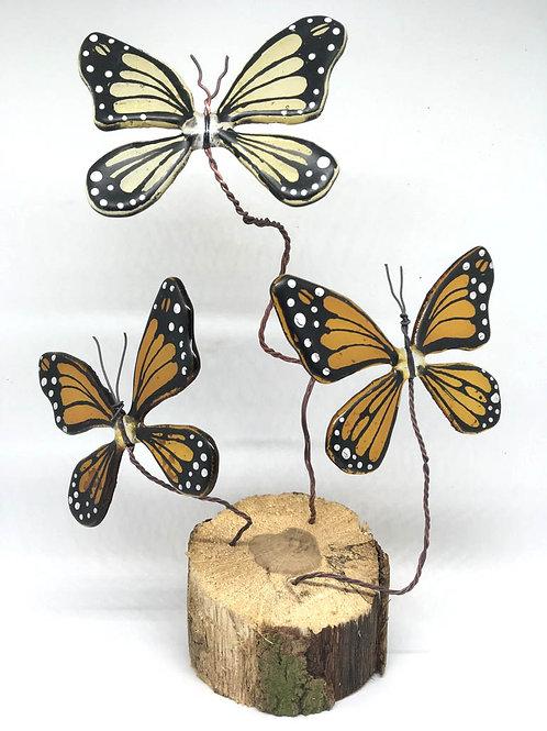 Flutter! On Wood