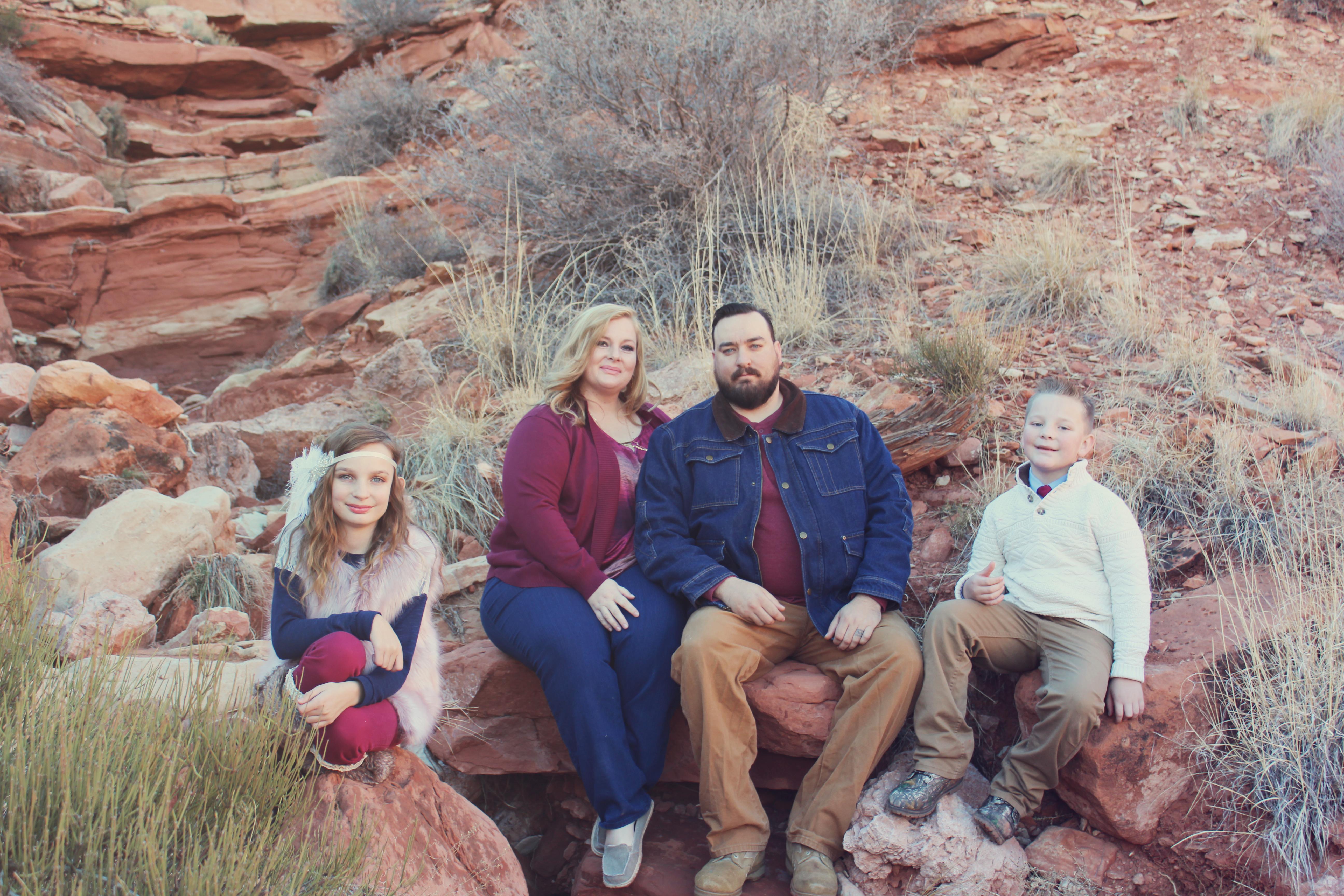Family portraits in Montana