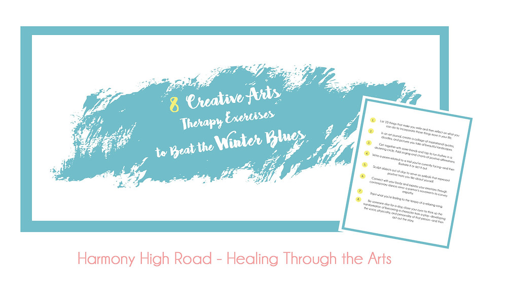 8 Creative Arts Therapy Exercises to Beat the Winter Blues