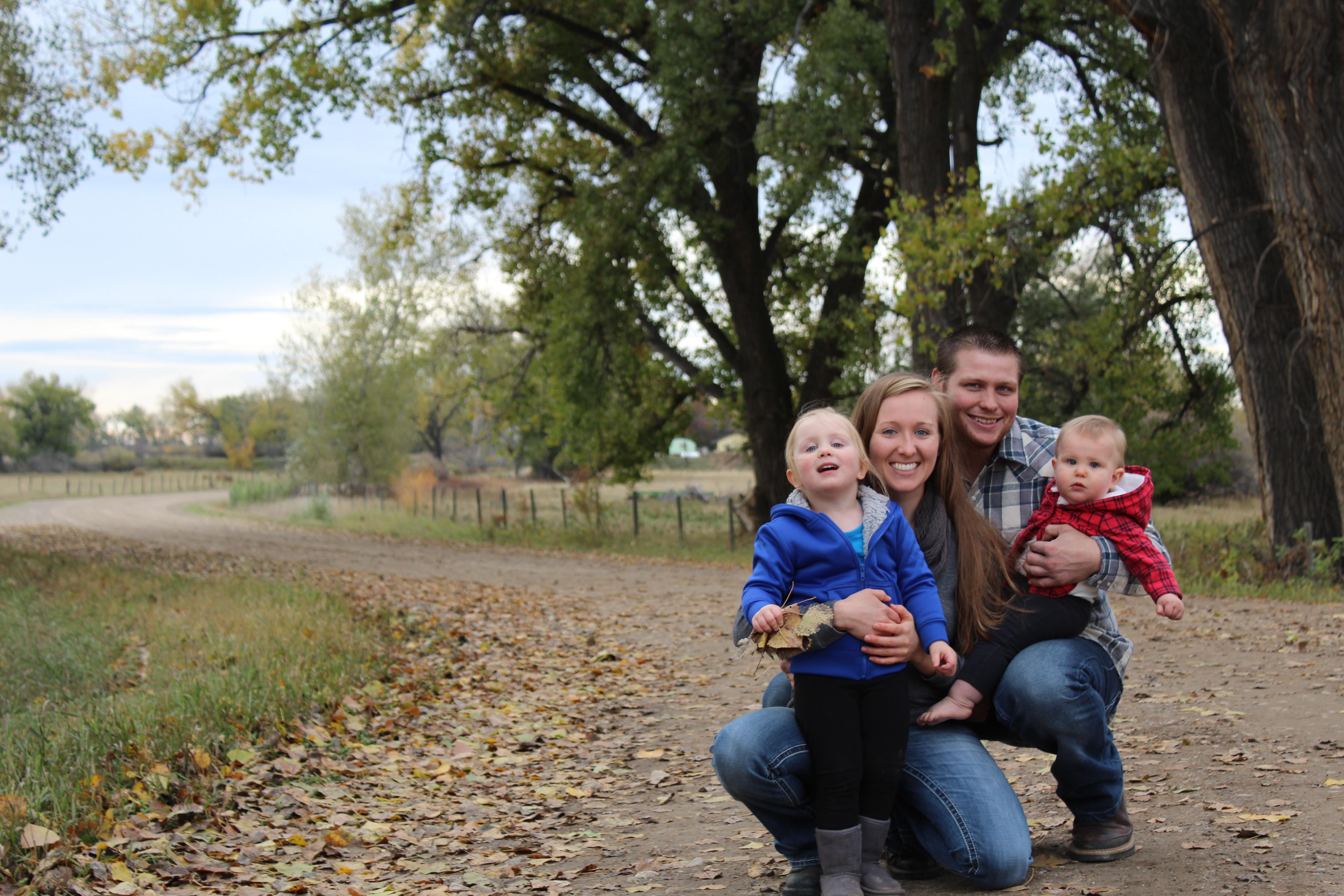 Fall Family portraits photographer