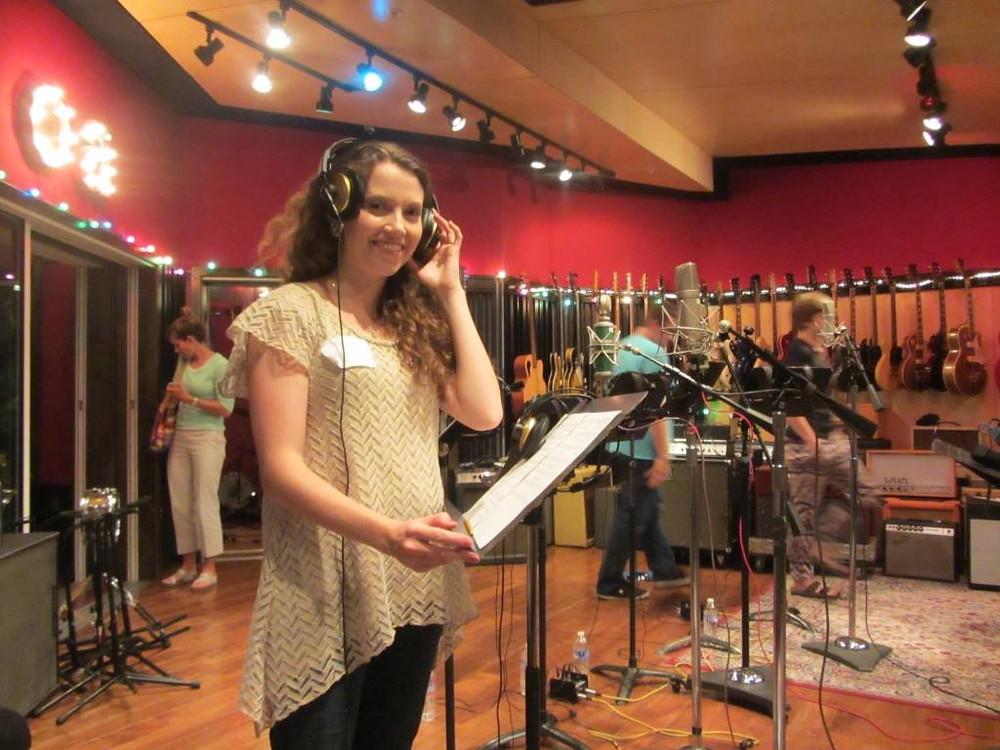 Recording on Jenny Phillip's album