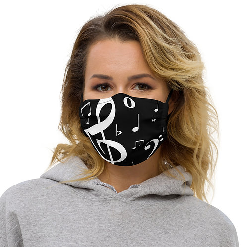 Music Note Face Mask