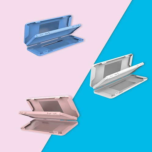 Double-Layer Face Mask Storage Box with Mirror