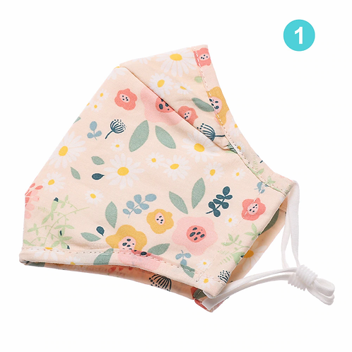 Breathable Cotton Face Mask - Floral Print