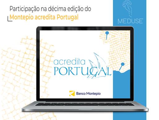 A Meduse é Semifinalista da 10º Edição do Acredita Portugal