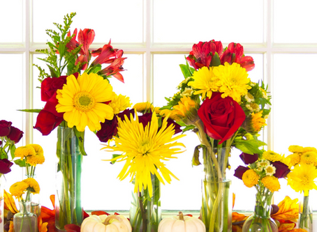 5 Of The Best Fall Flowers To Brighten Your Home And Help You Sell!
