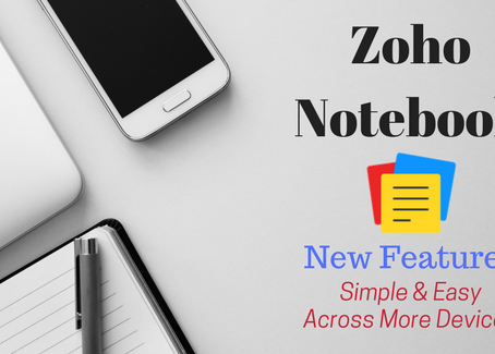 Zoho Notebook - A Note Taking Tool
