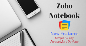 Zoho Notebook Image