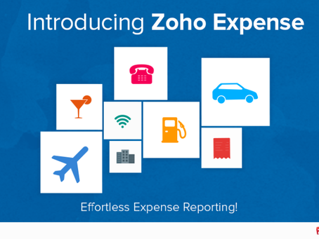Zoho Expense - An Online Expense Report Software