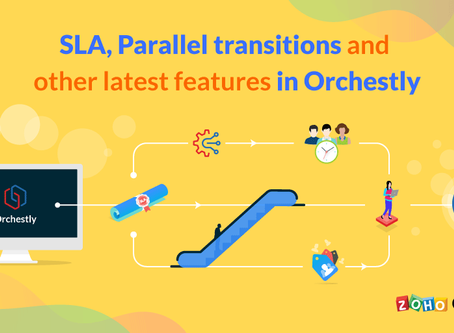 Zoho Orchestly - A Workflow Management Software
