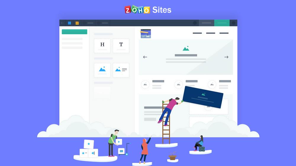Zoho Sites Image