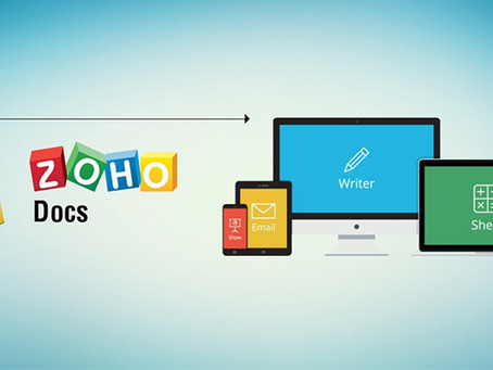 Zoho Docs - An Online File Storage and Management Software