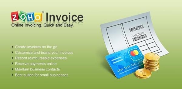 Zoho Invoice Image